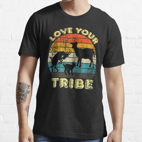 Love your Tribe Gift/ Goat Gift Essential T-Shirt