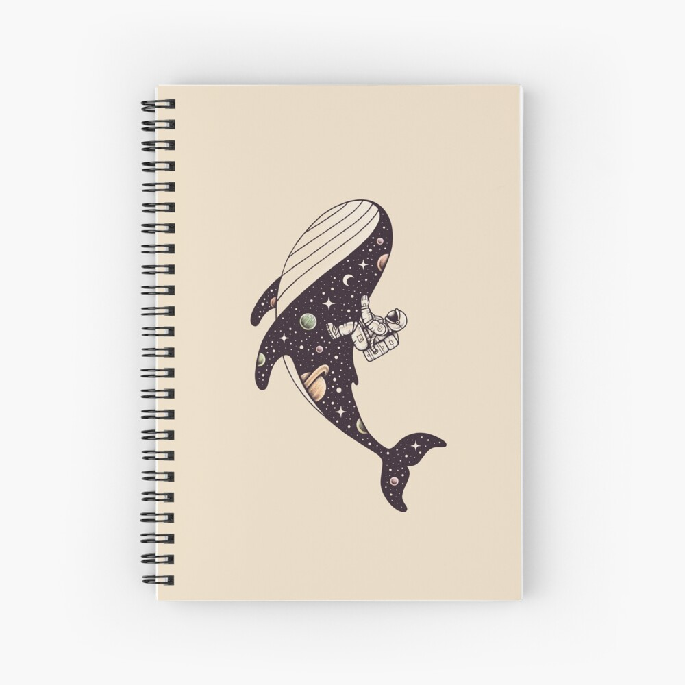 Stellar Ride Spiral Notebook