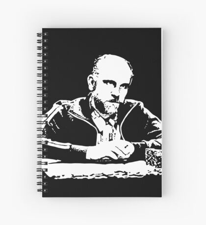Teddy KGB Rounders Spiral Notebook
