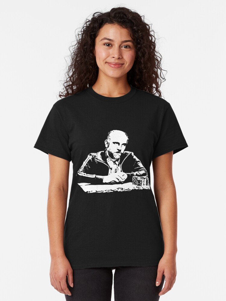 Alternate view of Teddy KGB Rounders Classic T-Shirt