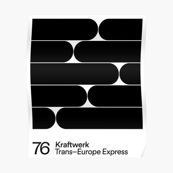 Kraftwerk - Trans-Europe Express Poster