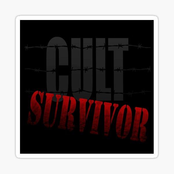 CULT SURVIVOR Sticker