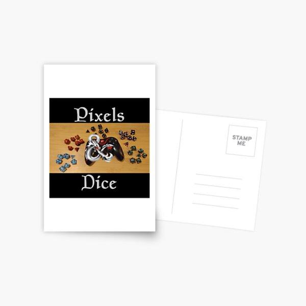 Pixels & Dice Podcast Postcard