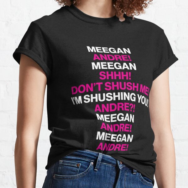 Meegan And Andre At The Movies (Black Version) Classic T-Shirt