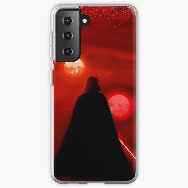 Vader Tatooine Binary Sunset Coque souple Samsung Galaxy