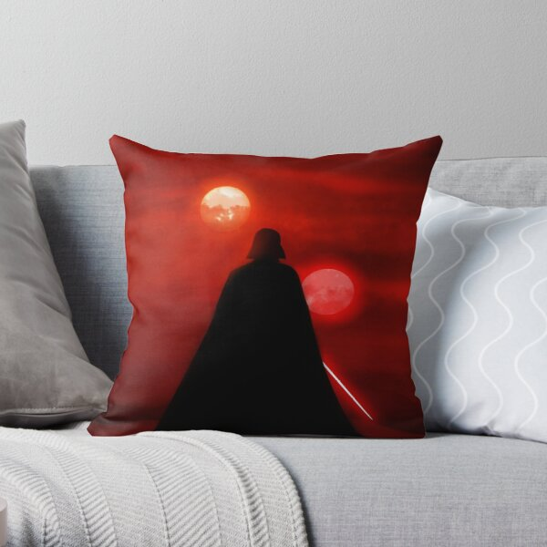 Vader Tatooine Binary Sunset Coussin