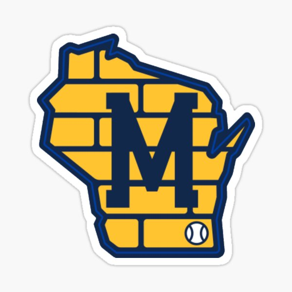 Milwaukee Baseball - Alternate Brewers Wisconsin  Sticker