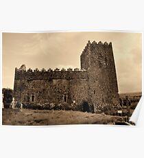 St Munna's Church. Taghmon,  Westmeath Ireland. Poster