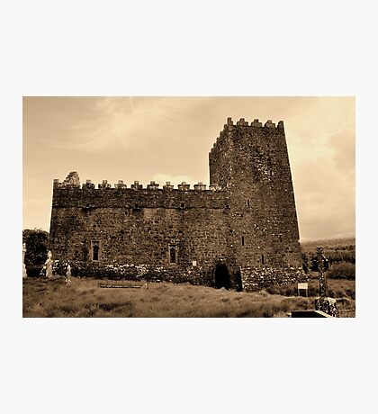 St Munna's Church. Taghmon,  Westmeath Ireland. Photographic Print