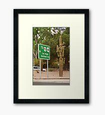 Route 66 - Kingman, Arizona Framed Print