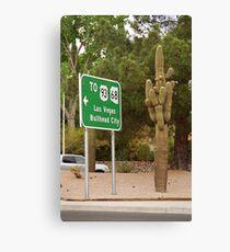 Route 66 - Kingman, Arizona Canvas Print