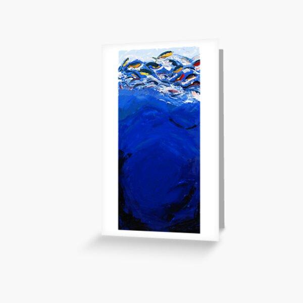 Blue #1, Musashi Series Greeting Card