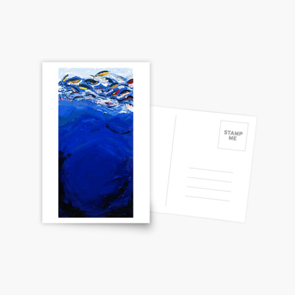 Blue #1, Musashi Series Postcard