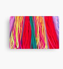 Colorful candies at the market Canvas Print