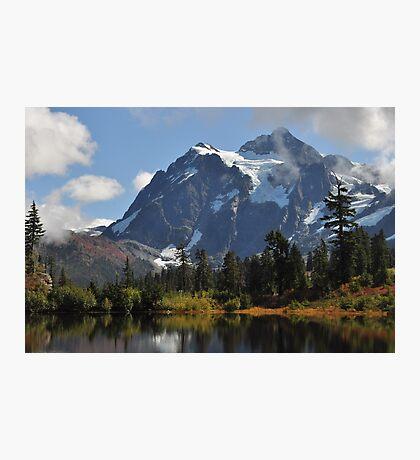 Mount Shuksan Autumn Photographic Print