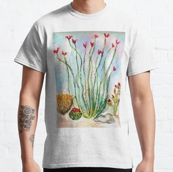 Blooming Ocotillo-Barbara Chichester Classic T-Shirt