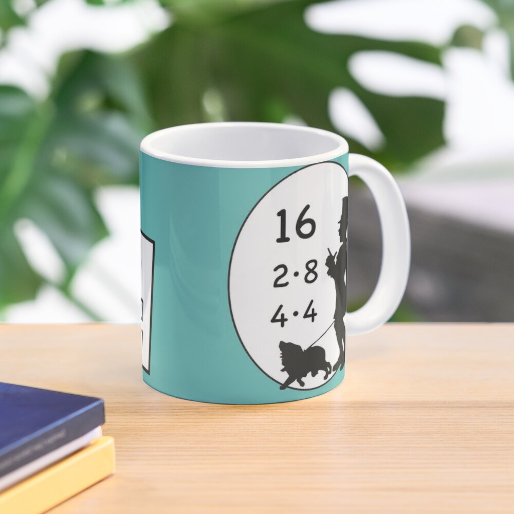 1x1 tasks, today the 16 - cocoa with brains - learning with fun Mug