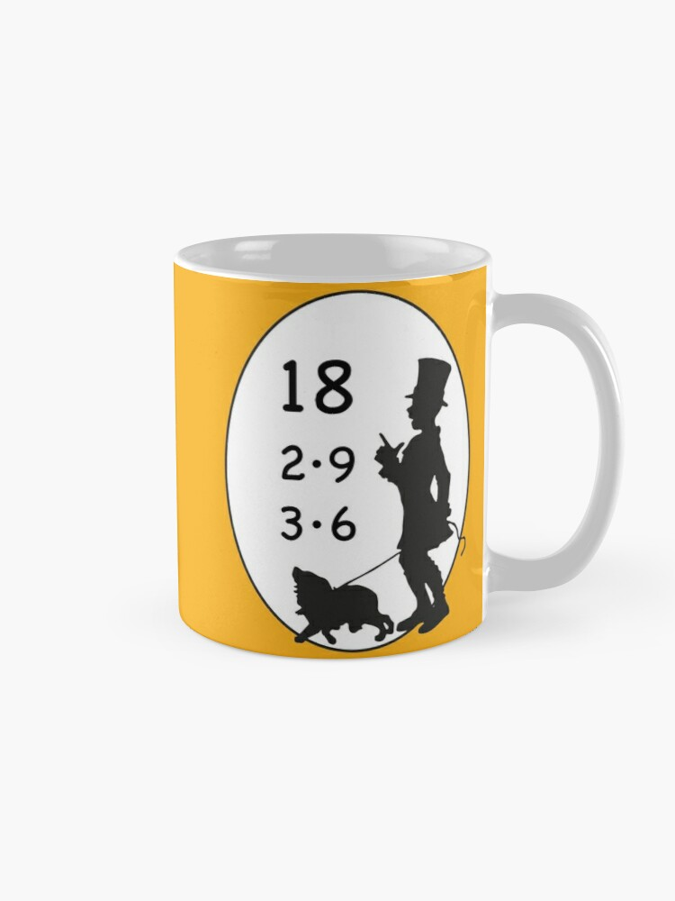 Alternate view of Difficult 1x1 tasks by the way, today the 18 - cocoa with brains - learning with fun Mug
