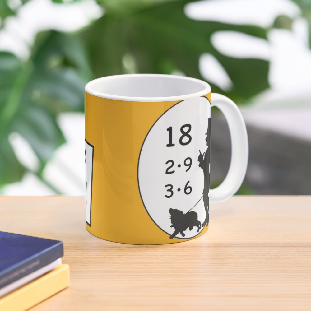 Difficult 1x1 tasks by the way, today the 18 - cocoa with brains - learning with fun Mug