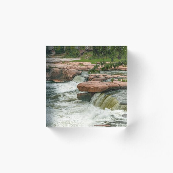 Valley Falls State Park, West Virginia Acrylic Block