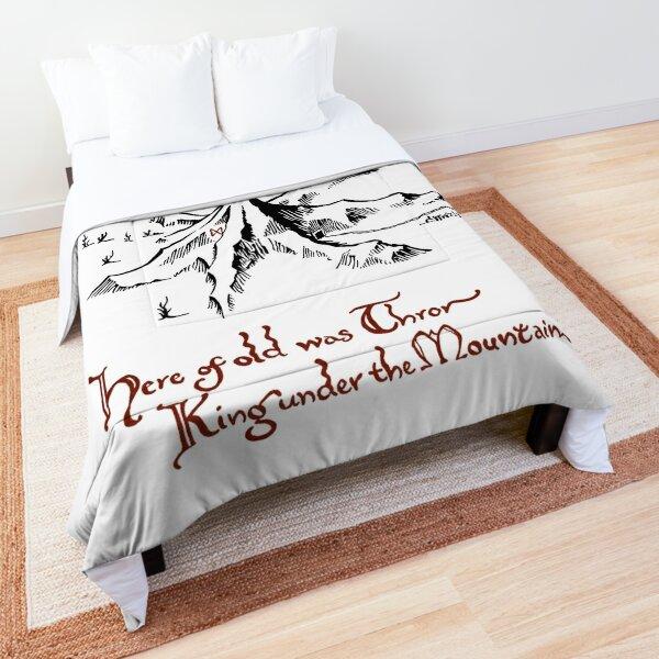 Smaug above Erebor Comforter