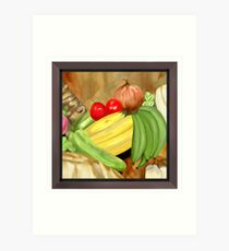 Green Plantain Creole Soup Art Print