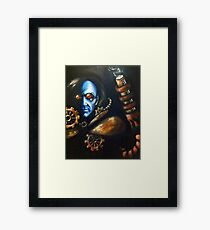 Dr. Fries/ Mr. Freeze Framed Print