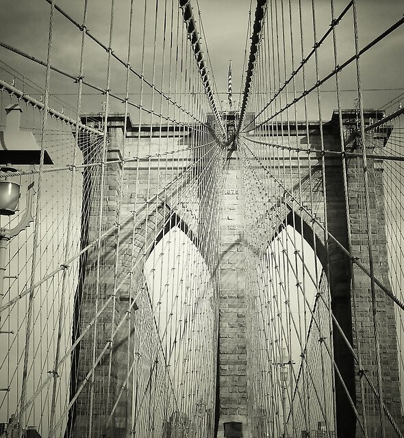 «The Brooklyn Bridge» de Vivienne Gucwa