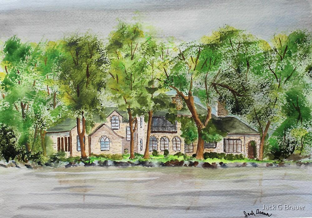 Lake Estate by Jack G Brauer