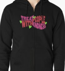 Treat People With Kindness Harry Styles Zipped Hoodie