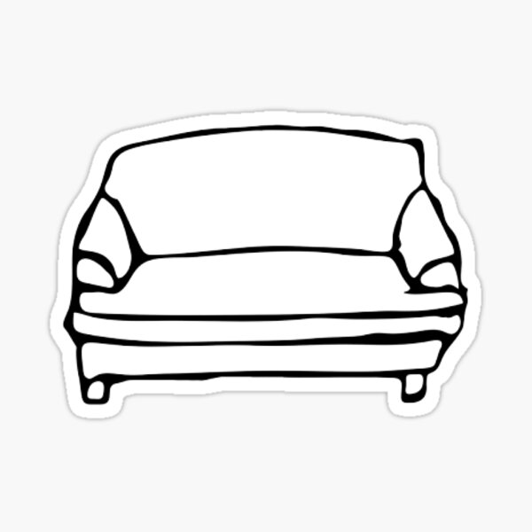 BROCKHAMPTON Couch T-shirts/Hoodies/Stickers/etc. Sticker
