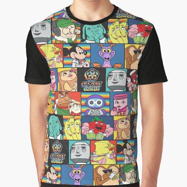 EPCOT Center block pattern Graphic T-Shirt