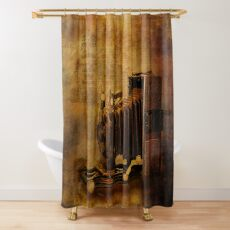 Folding Camera Shower Curtain