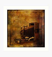 Folding Camera Art Print