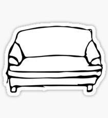 BROCKHAMPTON COUCH Sticker