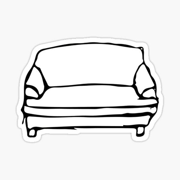 BROCKHAMPTON-COUCH Sticker
