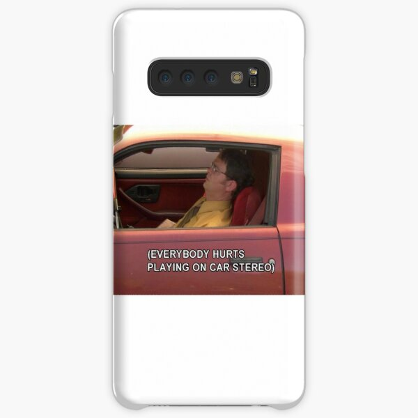 Dwight Sticker The Office  Samsung Galaxy Snap Case