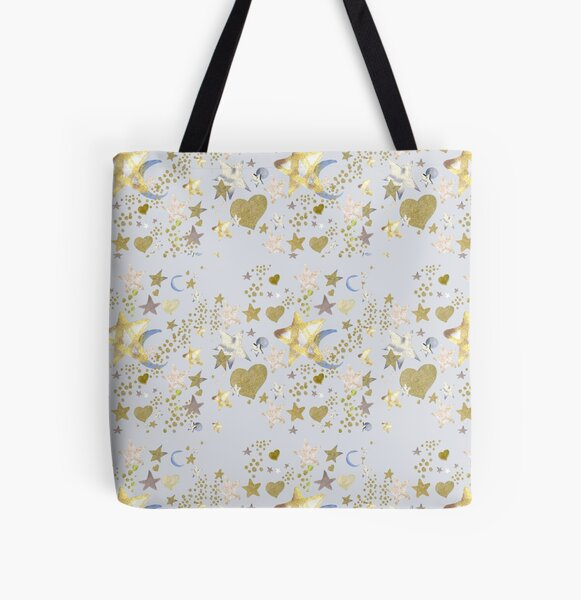 Stars at Night All Over Print Tote Bag