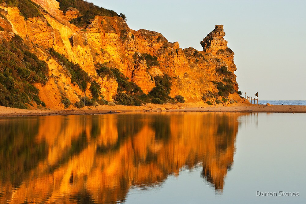 Painkalac Creek at Aireys Inlet by Darren Stones