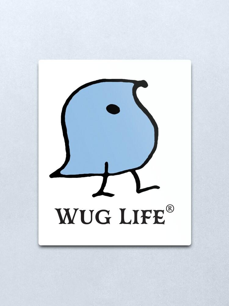 Alternate view of Wug Life Metal Print