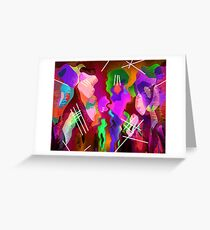All That Jazz Greeting Card