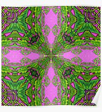 Celtic Kaleidoscope Poster