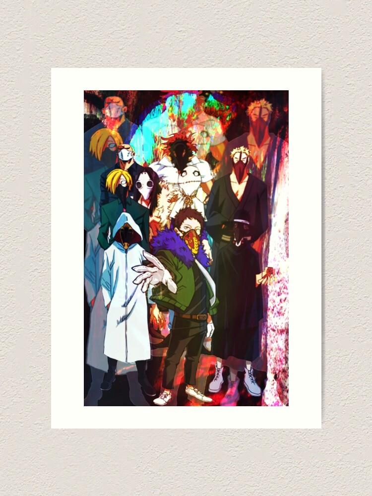 Shie Hassaikai Art Print By Trinityharmonia Redbubble Joi irinaka, also known as mimic, is a yakuza and the general manager of shie hassaikai. redbubble