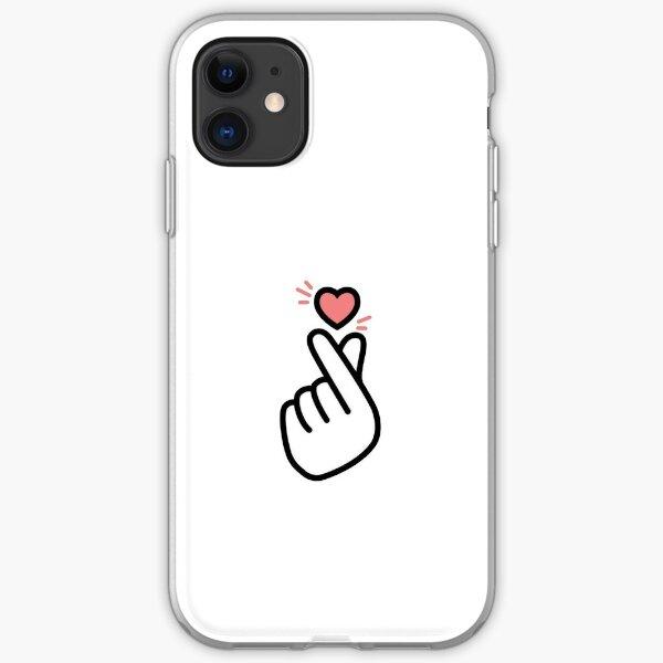 Korean Heart  iPhone Soft Case