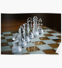 Chess pieces Poster