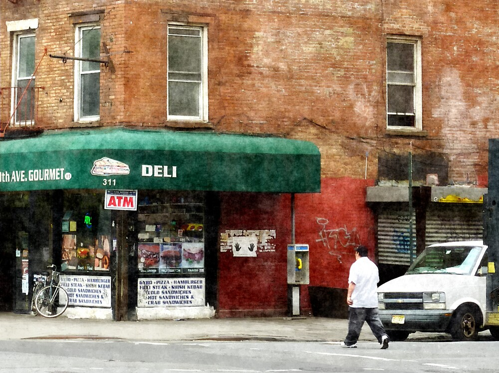 10th Ave. Deli in Manhattan by Susan Savad