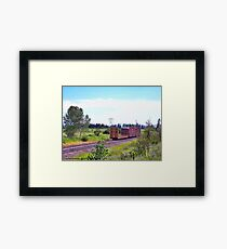Spur Tracks Framed Print