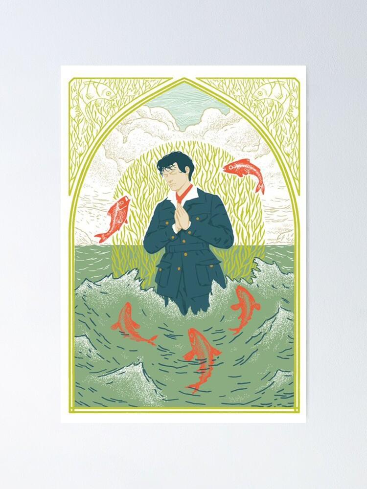 Alternate view of eroda tarot poster Poster