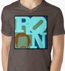 Ron Love (c) Mens V-Neck T-Shirt