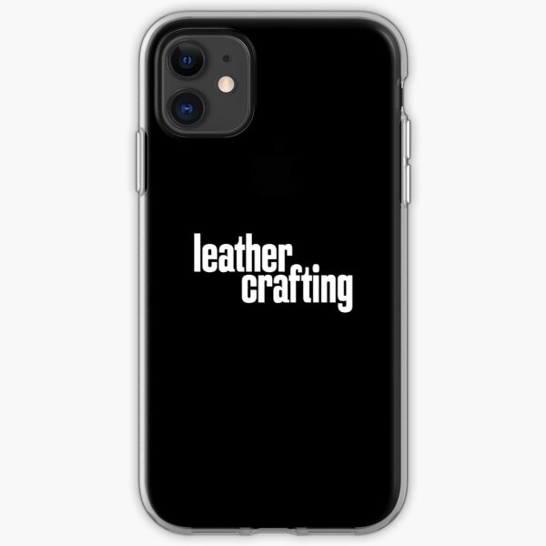 Leather Crafting iPhone Soft Case